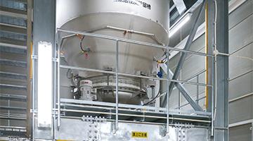 粉末活性炭貯留槽
