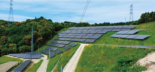 太陽光発電事業 風景1