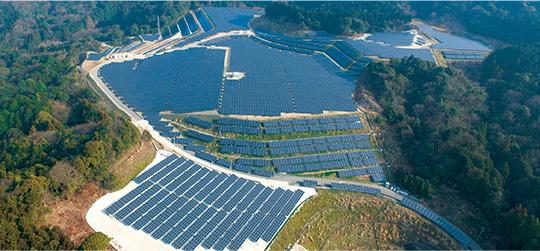太陽光発電事業 風景2