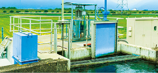 小水力発電事業 風景1
