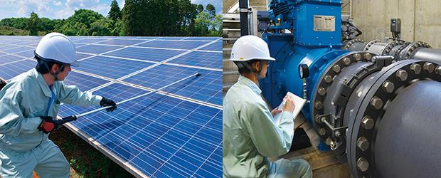 太陽光発電・小水力発電 O&M事業 風景3