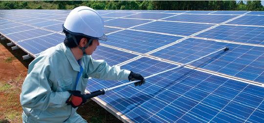 太陽光発電・小水力発電 O&M事業 風景1